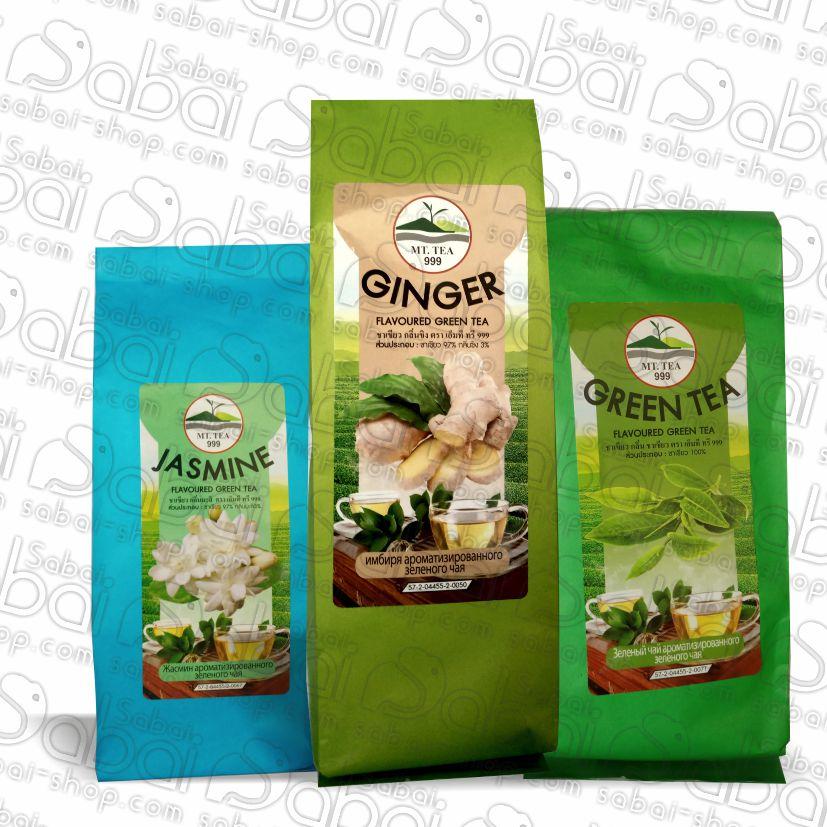 Тайский зеленый чай в ассортименте купить в Красноярске