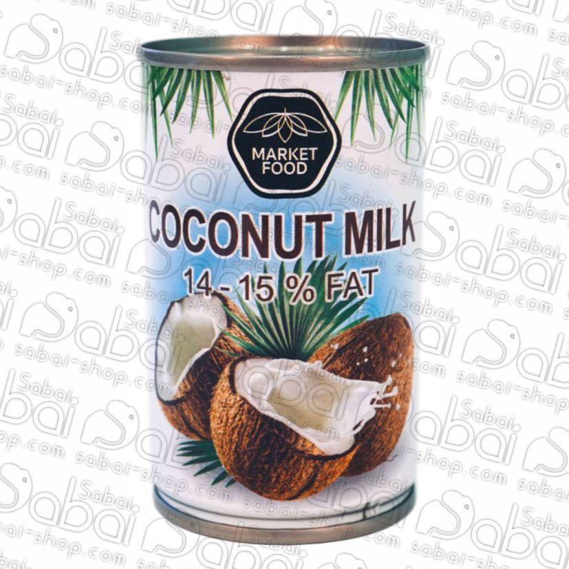 Натуральное кокосовое молоко, купить в Красноярске, в наличии Market food
