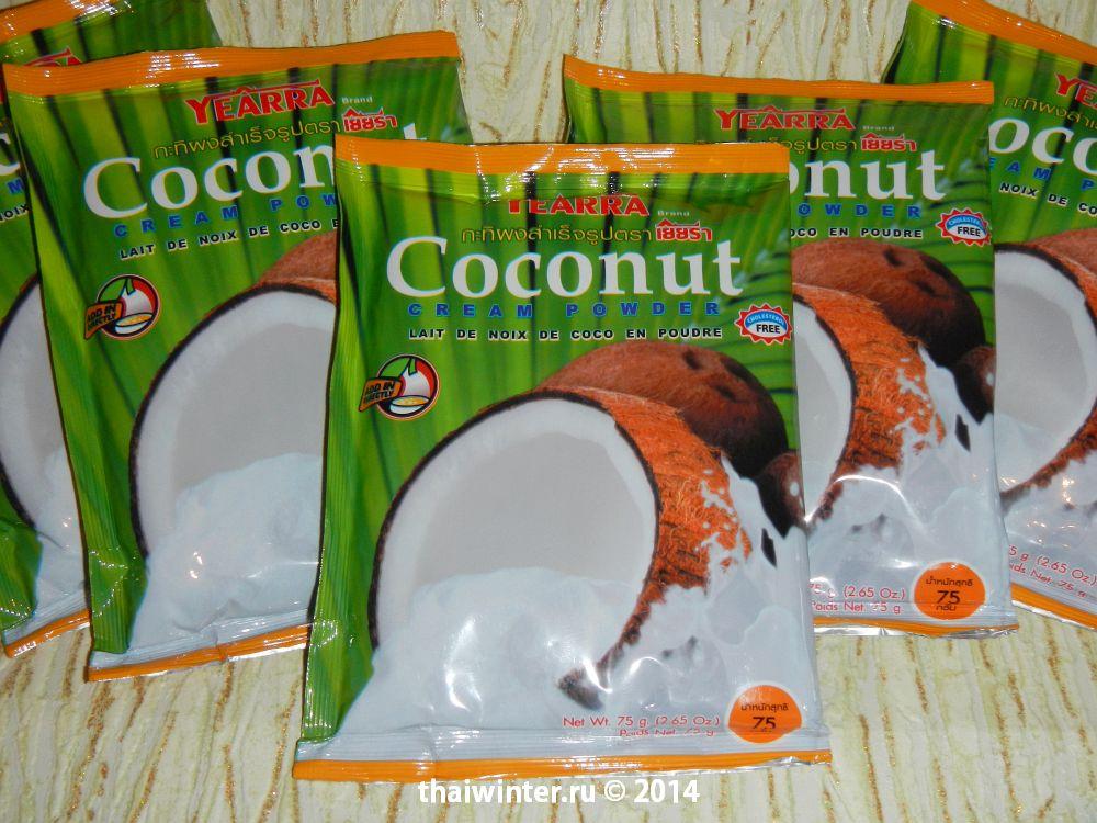Кокосовое молоко Yearra Coconut Cream Powder 75 гр