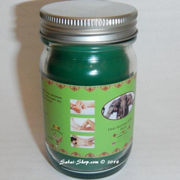 Тайский Зеленый бальзам на травах Thai Natural Herb Balm