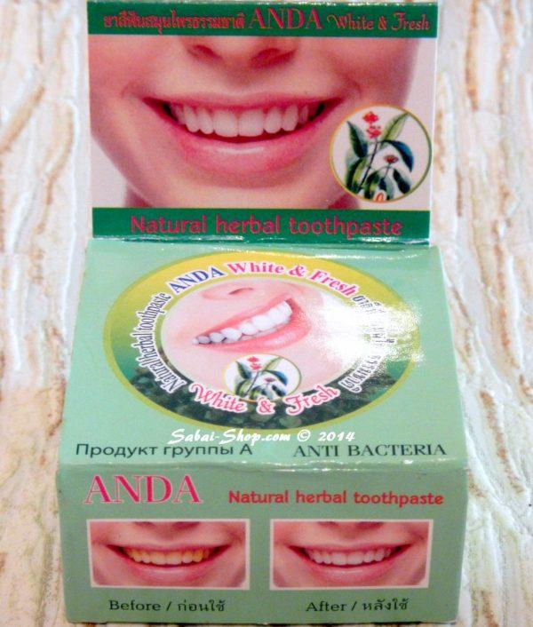 The Siam Spa Herbal Toothpaste тайская паста с гвоздикой
