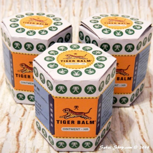 Тайский Тигровый бальзам Tiger Balm