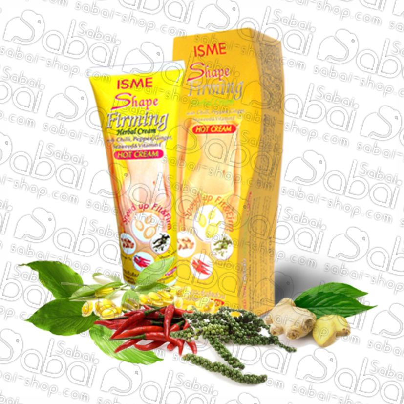 Антицеллюлитный крем ISME Shape Firming Herbal Cream купить в Красноярске