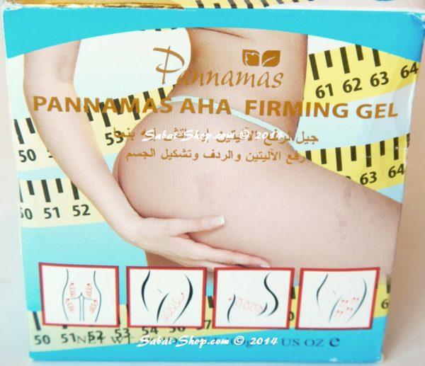 Подтягивающий гель для бедер Pannamas Aha Hips Firming Gel