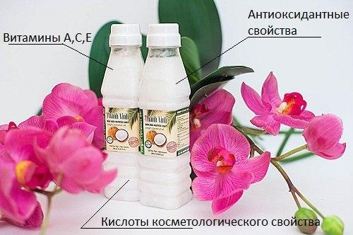 Thành Vinh Virgin Coconut Oil 100% натуральное девственное кокосовое масло из Вьетнама