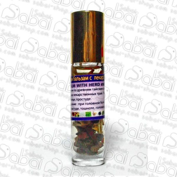 Жидкий бальзам-ингаллятор с лекарственными растениями, 40 гр.