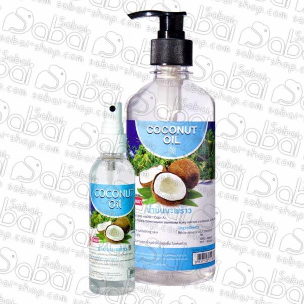 Кокосовое массажное масло для тела и волос Banna Coconut Oil, 450 мл.