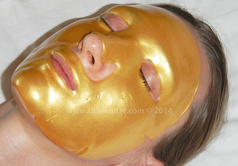 Золотая коллагеновая маска для лица Collagen Crystal Facial Mask