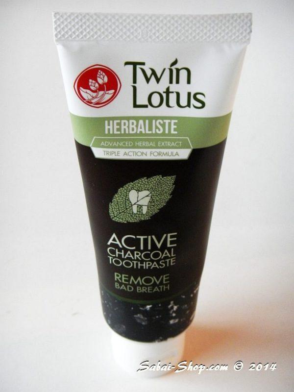 Зубная паста Twin Lotus Herbaliste Active Charcoal Toothpaste