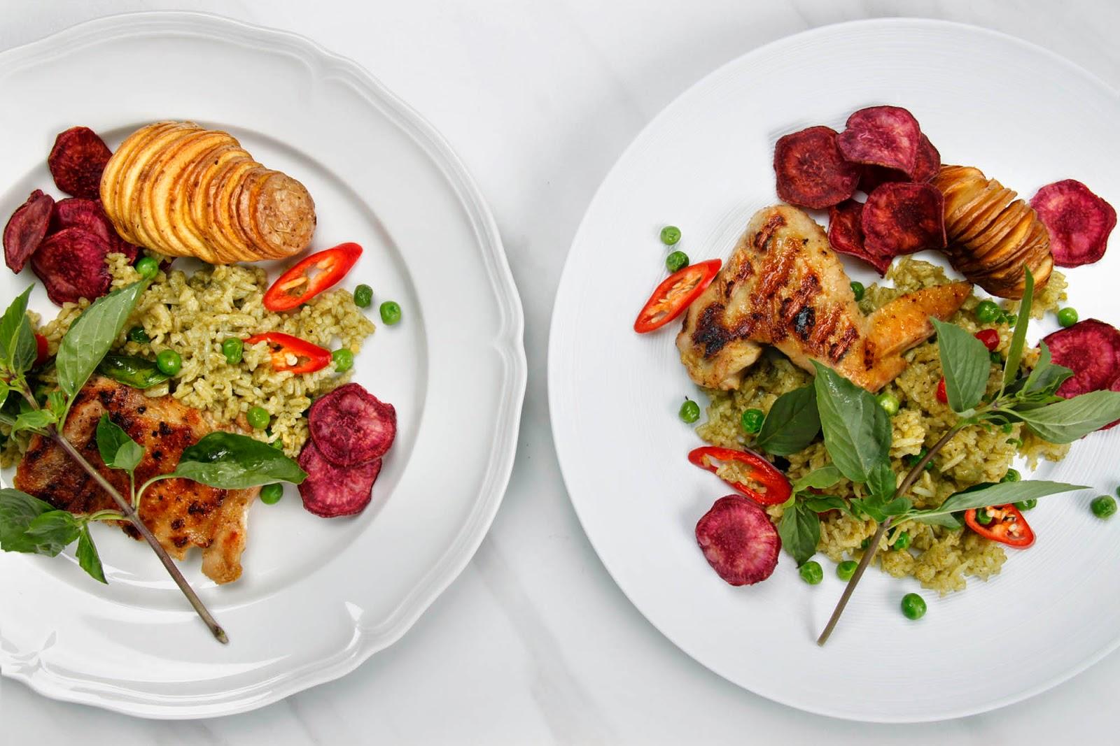 Рецепт курица зеленое карри