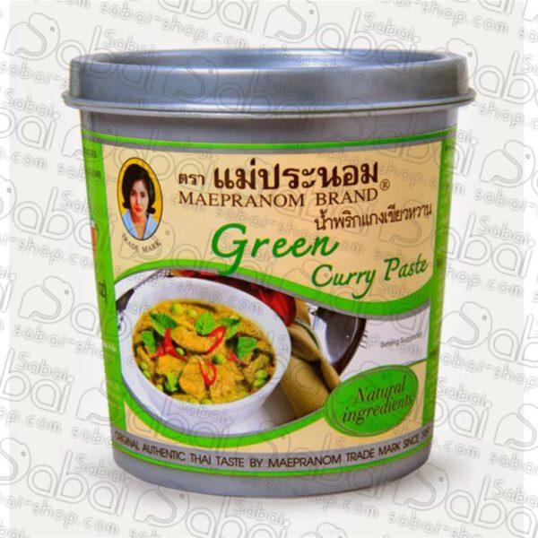 Зеленая карри паста
