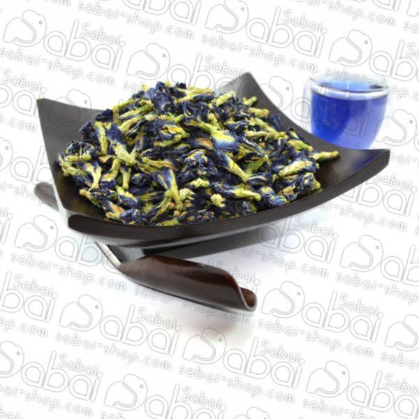 Синий чай из Тайланда. Клитория цветы чай. Купить синий чай из Тайланда.