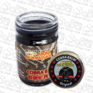Original Thai Massage Cobra Balm