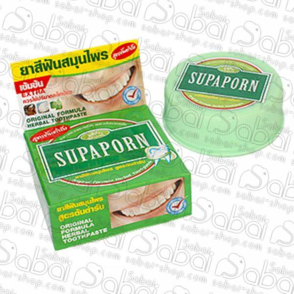 Зубная паста Supaporn c борнеолом и камфорой
