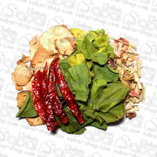 Главная / Тайская кухня / Специи Ну какой-же Тайланд без специй Заполнитель Набор ингредиентов для Том Ям (Tom Yum Dried Spices