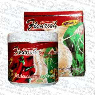 Антицеллюлитный крем с тайским перцем (Flourish Herbal Hot slimming) 500 мл. купить в Красноярске 044810036026