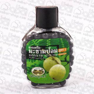 Травяные шарики от кашля и боли в горле с эмбликой (Makham Pom Cough Drop) 150 шт. купить в Красноярске