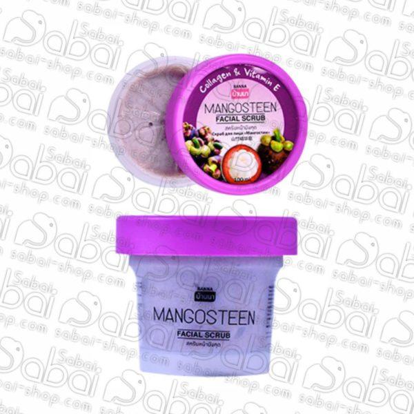 Фруктовый скраб для лица (Banna Facial Scrub) мангустин 100гр. купить
