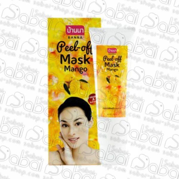 Гель-пленка для лица с манго banna peel of купить в Красноярске