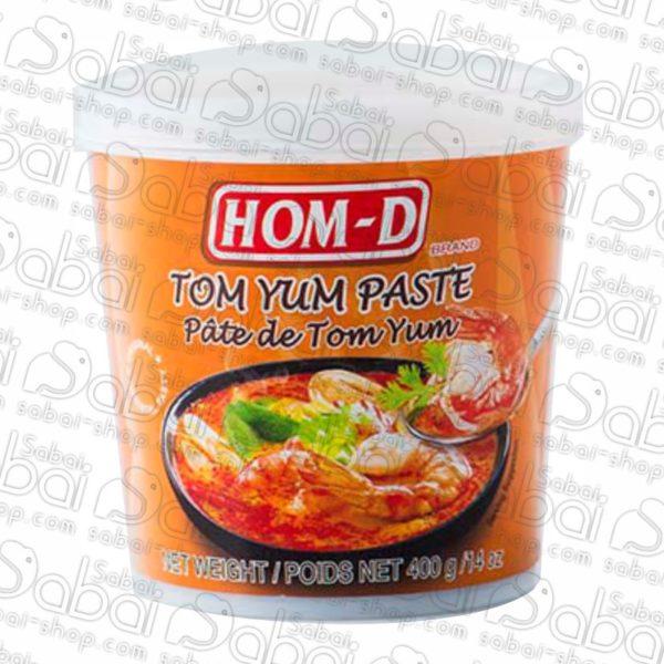 Паста для Том Ям Hom-D (Tom Yam Pasta) 400гр. купить в Красноярске
