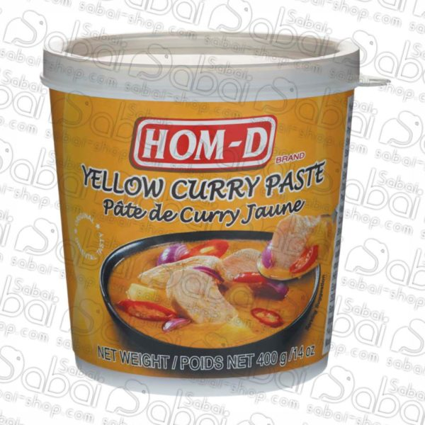 Желтая карри паста Hom-D купить в Красноярске, в наличии магазин сабай сабай Красноярск