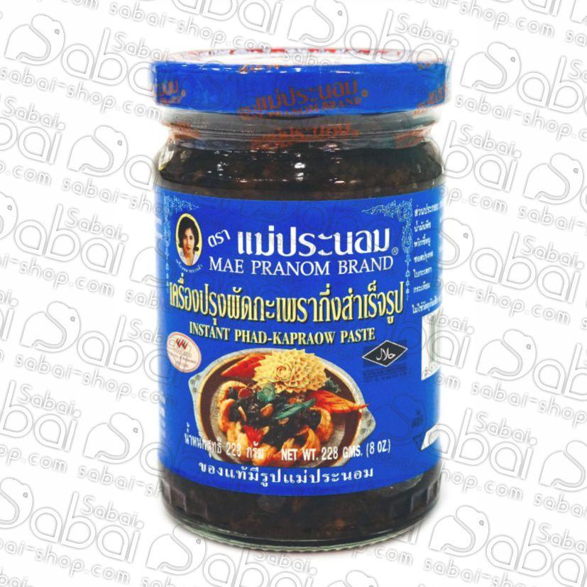 Базиликовая паста чили (Phad Kapraow Paste) купить в Красноярске Тайские товары и специи basil chilli pasta