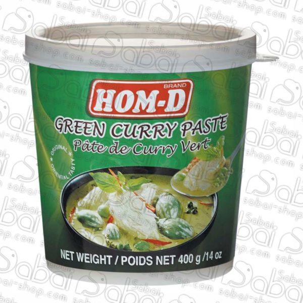 Зеленая паста Карри Hom-D 400 гр. купить в Красноярске
