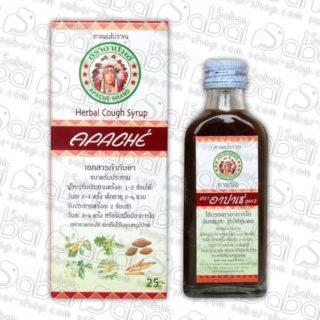 Тайский сироп от кашля на травах Herbal Cough Syrup Apache Brand 60 мл. 8857022000530