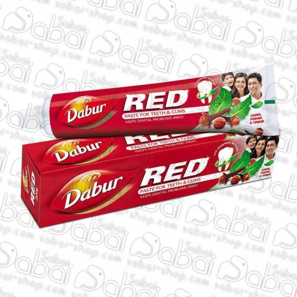 Зубная паста Дабур красная (Dabur Red Paste for Teeth & Gums), 120гр. Красноярск