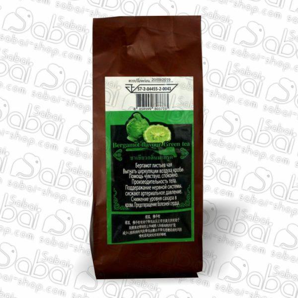 Зелёный чай с бергамотом 101 Tea Brand (Bergamot flavour green tea)100гр. 8858999803773