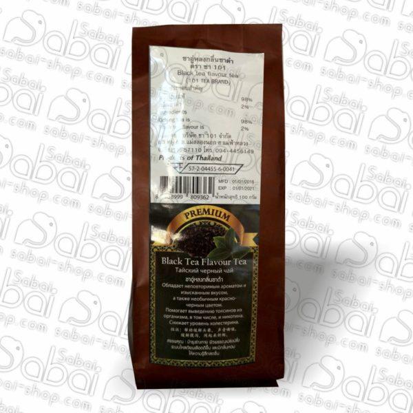 Тайский черный чай PREMIUM 101 Tea Brand (Black tea flavour tea) 100гр.