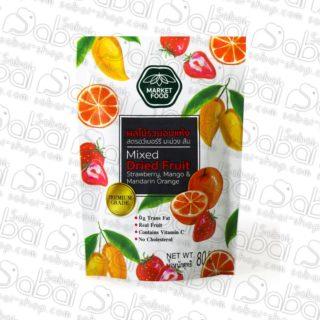 Цукаты из клубники, манго и мандарина (Mixed Dried Fruit - Strawberry Mango Mandarin) 80гр. купить в России