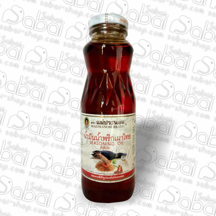 Тайское масло для заправки салатов (Seasoning Oil Maepranom) 300 мл. купить в Красноярске