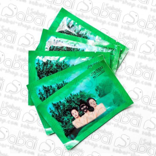 Японская маска-пленка на основе морских водорослей и лечебной грязи Shiseido купить в Красноярске