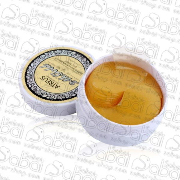 Гидрогелевые золотые патчи для кожи вокруг глаз 24 карата (Atreus Gold Eye Mask) 60шт. купить в Красноярске