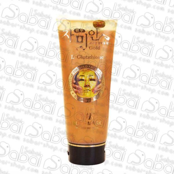 Золотая маска - пленка для лица 24 карата плюс глутатион (L-Glutathione 24k Gold Mask) 220мл. купить в Красноярске