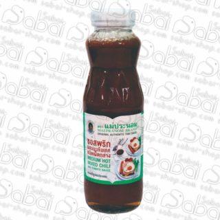 Умеренно острый соус из перцев чили и помидоров (Medium Hot Mixed Chili and Tomato Sause) купить в Красноярске