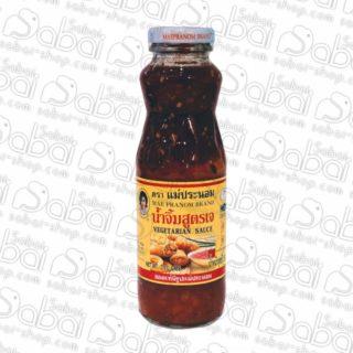 Вегетарианский соус (Vegetarian Sauce) Maepranom Thai Chili Paste Co., купить в Красноярске