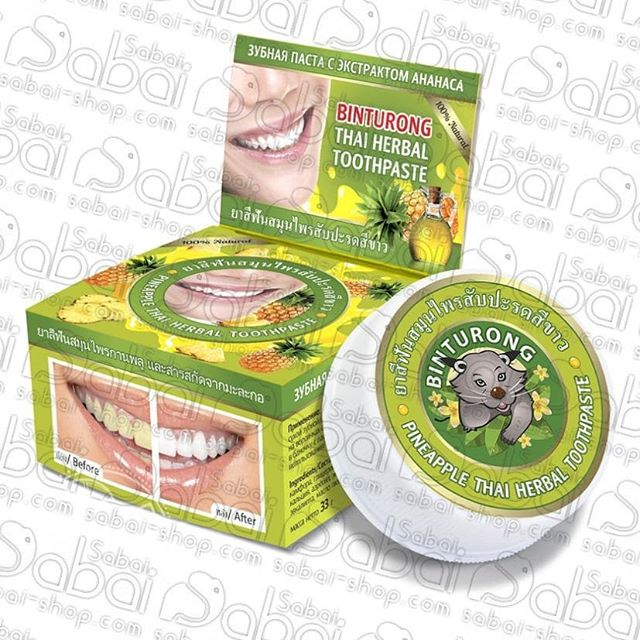 Дорогие друзья. Акция. У нас большое поступление тайских зубных паст известного производителя Binturong. Сейчас цена 150р. Акция!!!Зубная паста, благодаря глинистой вязкой консистенции и высоким чистящим свойствам, паста проникает в самые труднодоступные места и бережно удаляет частицы пищи, зубной камень, освобождая зубную эмаль. Значительно уменьшает чувствительность зубов. Одной баночки зубной пасты хватает на 3 месяца регулярного использования. Зубная паста без фтора. Чисти зубы с удовольствием. #паттайя #зубнаяпастаизтаиланда #фрукты #здоровыезубы #ананас #зелёныйчай #манго #чернаязубнаяпаста #товарыизтаиланда #Тайланд #изтайланда #втаиланде #втайланде #интернетмагазин #изтаиландаслюбовью #тайскаякосметика #косметикаизтаиланда #салонкрасоты #улыбка #Thailand #Красноярск #Новосибирск #сабайшоп #сабайшопкрасноярск #sabaishop #кариес #кариес