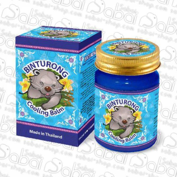 Синий охлаждающий бальзам с эвкалиптом Binturong, 50гр. 8859146431245 Binturong Cooling Bam купить в Красноярске