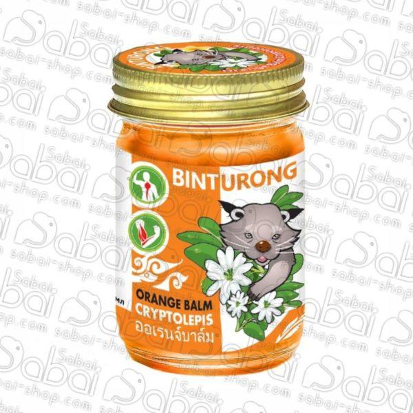 Binturong Orange Balm Cryptolepis 8859146431221 Бальзам для снятия напряжения в мышцах и суставах, 50гр купить в Красноярске