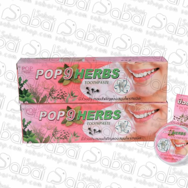 Растительная зубная паста POP Herbs 9 трав купить в Красноярске 8853318003056
