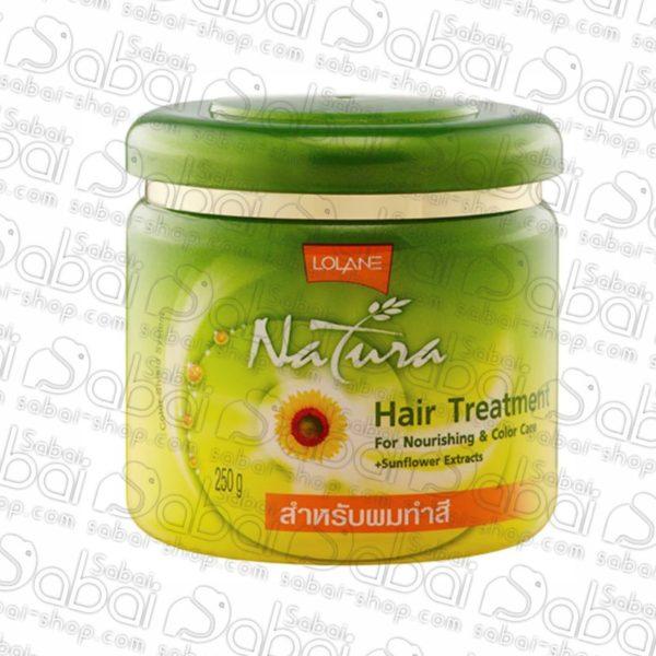 Маска для волос для окрашенных волос Lolane Natura купить в Красноярске
