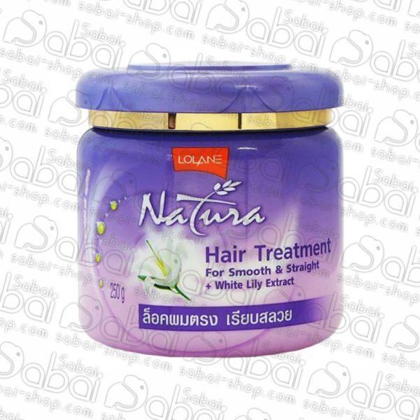 Маска для волос с белой лилией Lolane Natura 250гр. купить в Красноярске