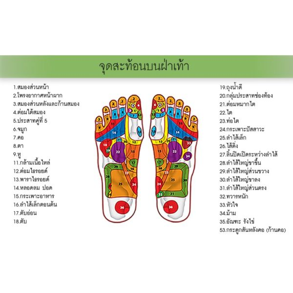 Палочка из Таиланда для массжа стоп