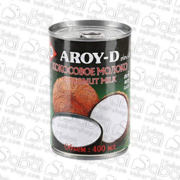 Молоко кокосовое Aroy-D (жирность 17-19%), 400 мл 016229001711 в Красноярске