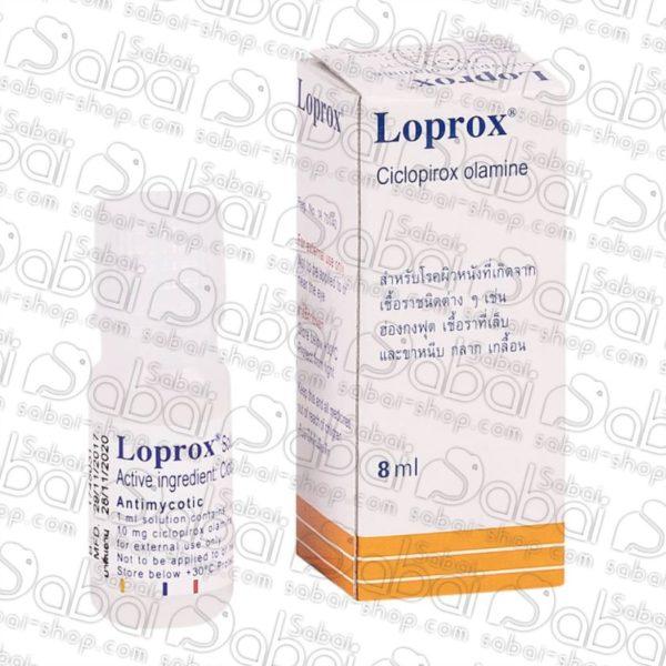 Тайский противогрибковый препарат Loprox 8850886064106 купить