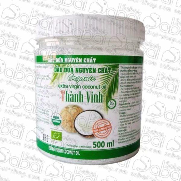 Купить вьетнамское Thanh Vinh Натуральное кокосовое масло Organic Extra Virgin в Красноярске.