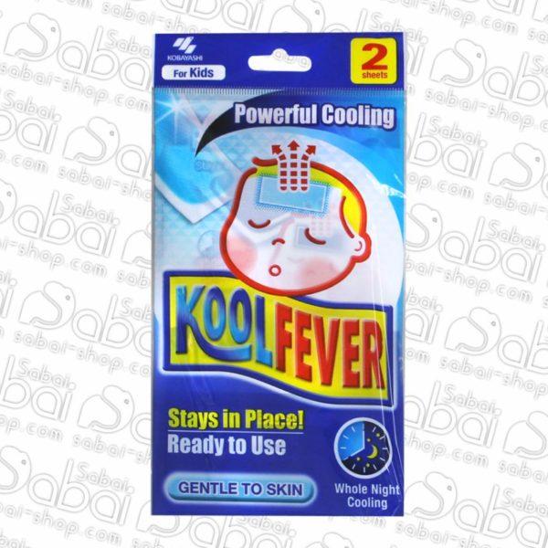 Кoolfever for Children Охлаждающий пластырь для детей произведен в Японии купить в Красноярске 4987072096901