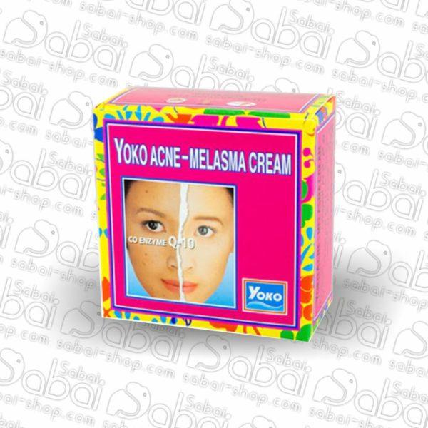 Крем против Акне и Мелазмы Yoko Acne-Melasma Cream Cream Q10 4гр. Купить в России, доставка 8853976000237